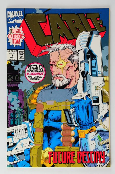 Cable (Vol.1, 1993)  #1/107 + #1-2 Blood & Metal, Complete Series - (i-AMF Top Collection XL) - Eerste druk