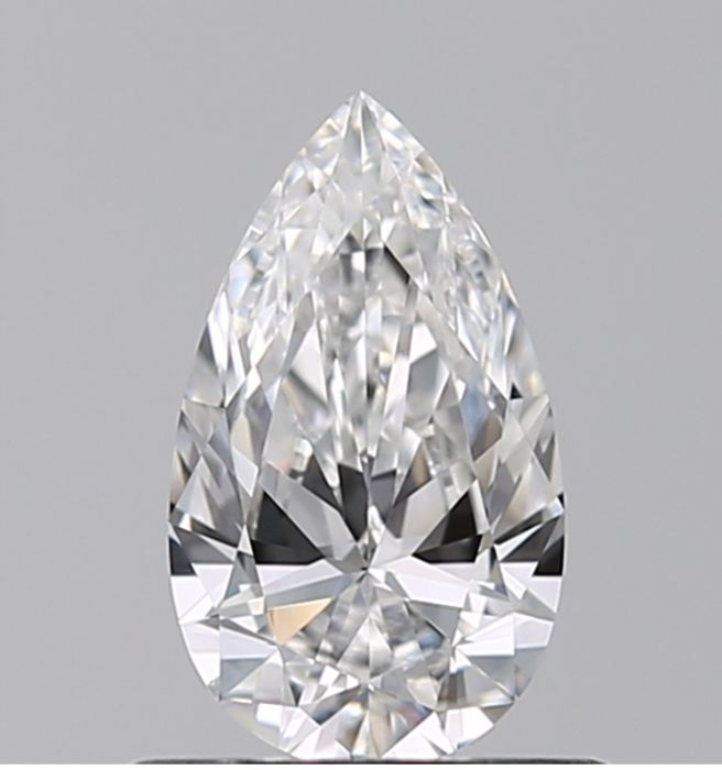 1 pcs Diamant - 0.50 ct - Peer - E - IF (intern zuiver)