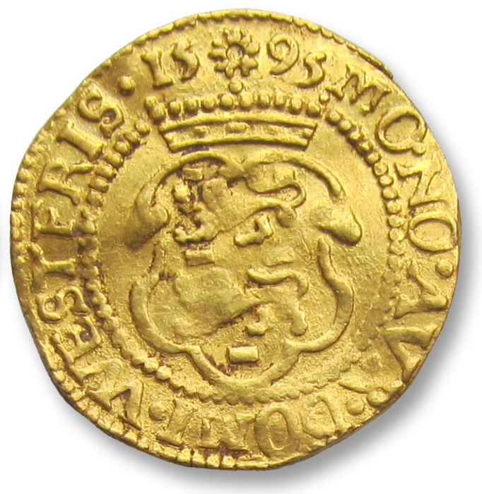 Netherlands - West Friesland - Dutch gold Ducat,  1595 - so called Hungarian type ducat - Goud