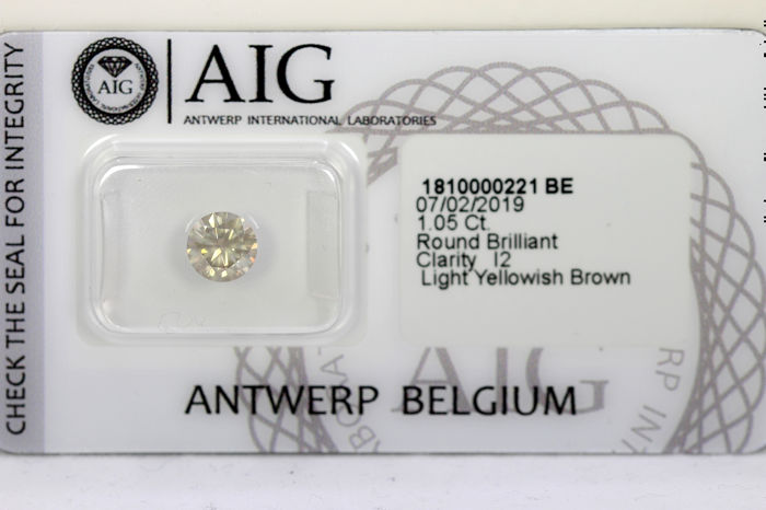 Diamant - 1.05 ct - Briljant - P2