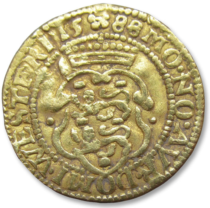 Netherlands - West Friesland - Dutch gold Ducat,  1588 - so called Hungarian type ducat - Goud