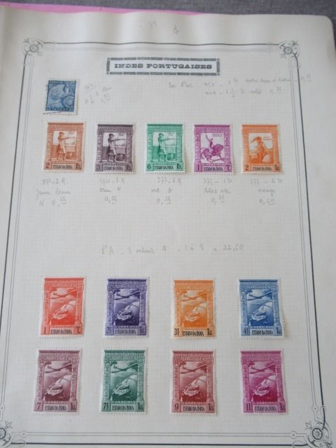 Oude Portugese koloniën - Significant collection of stamps