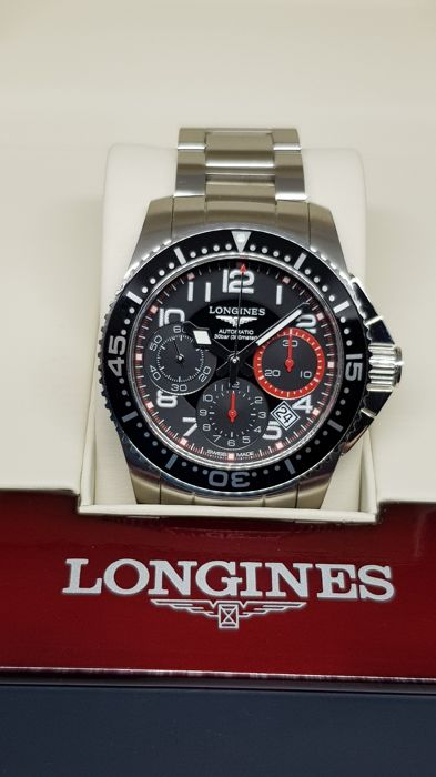 Longines - HydroConquest Automatic Chrono 41mm - L3.696.4.53.6 - Heren - 2011-heden