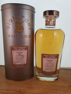 Dalmore 1990 18 years old Cask Strength - Signatory Vintage - b. 2008 - 0,7 litra