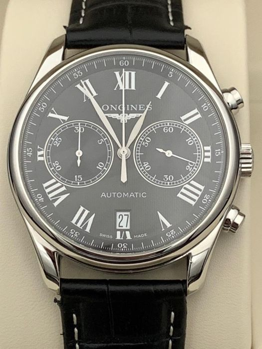 Longines - Master Collection Automatic Chronograph  - L2.629.4.51.6 - Män - 2011-nutid