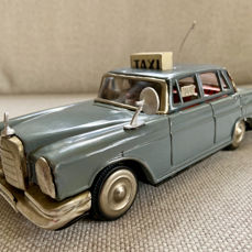 ICHIKO - 60's Mercedes Taxi, Friction