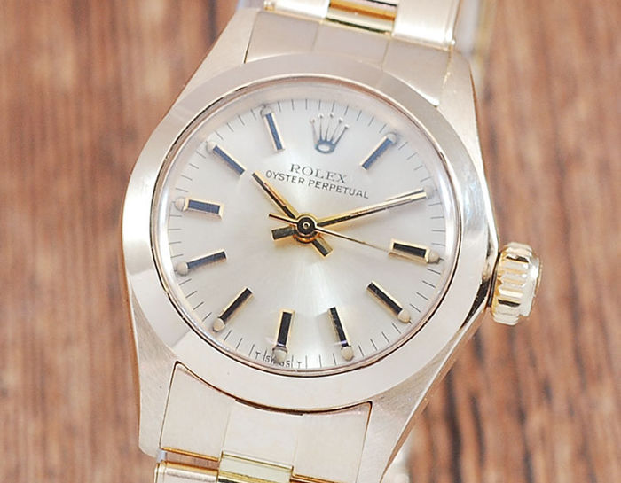 Rolex - Oyster Perpetual  - 6718 - Mujer - 1980-1989