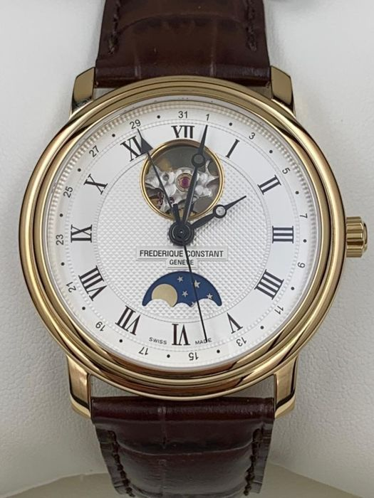 Frédérique Constant - Classics Open Heart Moonphase NEW  - FC-335MC4P5 - Men - 2011-present