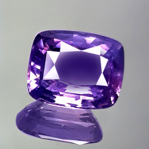 Purpur Rosa Saphir - 4.14 ct