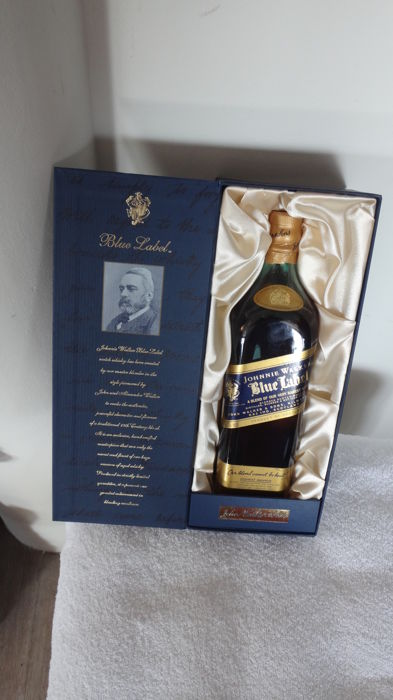 Johnnie Walker Blue Label 'Singapore Duty Not Paid' - 750ml