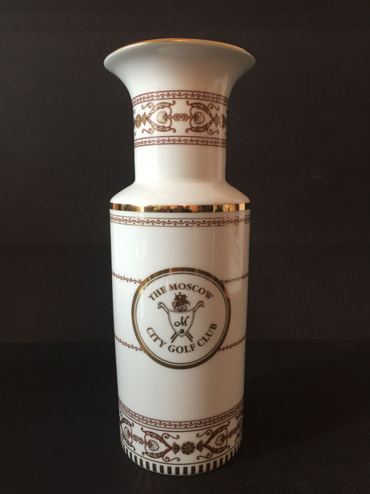 Imperial Porcelain Factory of St. Petersburg - vaso - Il Moscow City Golf Club - Porcellana
