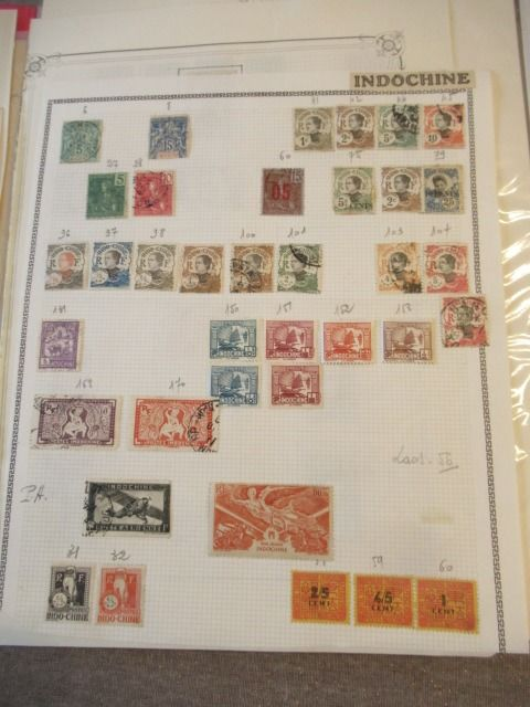 Indochine Et Comptoirs Collection Avancee De Timbres Catawiki