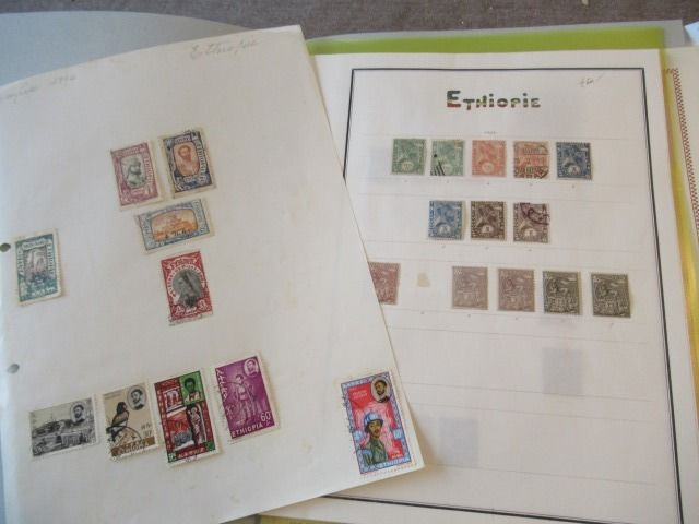 Ethiopië - Advanced collection of classic stamps
