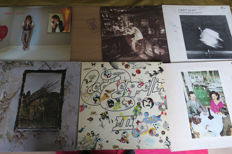 Led Zeppelin, Robert Plant - Nice lot with 6 great Albums of Led Zeppelin & Related - Multiple titles - LP's - 1973/1983