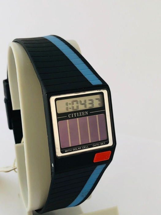 edfceb47ebfe Citizen - Vintage Unisex LCD Digital SOLAR watch - New Old Stock (never  used)