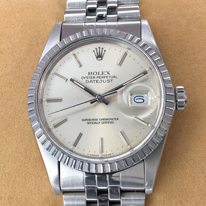 Rolex - Datejust Brushed Silver Dial - 16030 - Unisex - 1980-1989