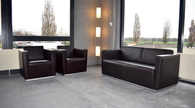 Jan Kleihues - Walter Knoll - couch & armchairs (3) - Elton