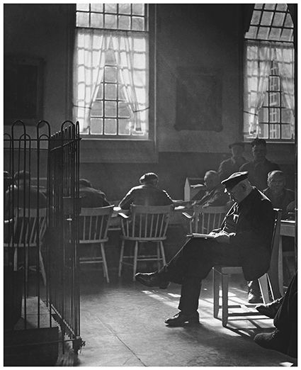 Kees Scherer (1920-1993) - Old people's home, Amsterdam ,1955