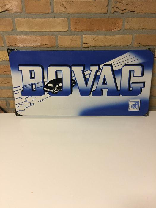 emaille Reklame bord - BOVAG  - 1955 (1 items)