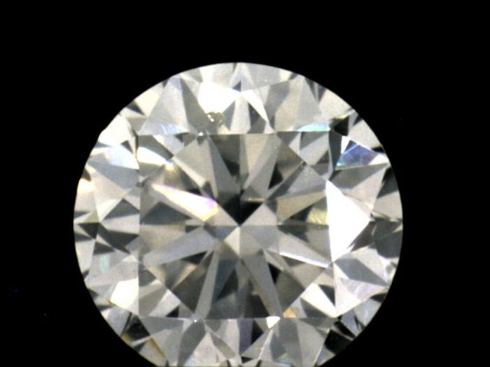 Diamant - 0.40 ct - Briljant - F - GIA, SI1