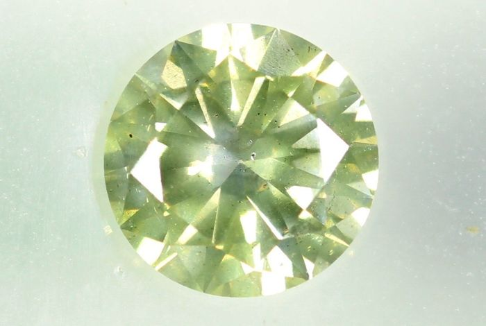 Diamante - 0.51 ct - Brillante - I1