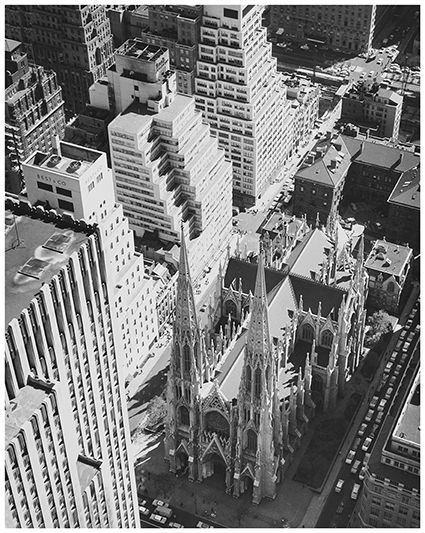 Kees Scherer (1920-1993) - St. Patrick's Cathedral, New York, 1959