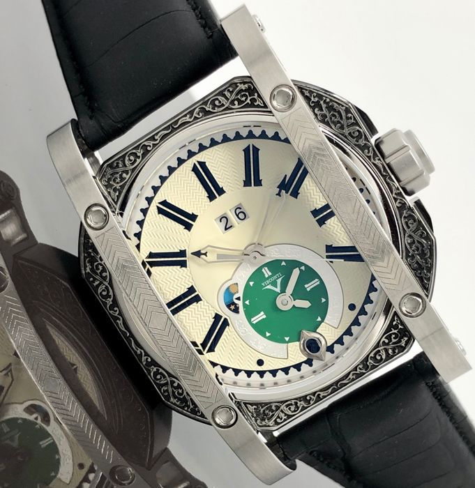 Visconti - Automatic GMT Limited Edition  - W102-03-122-10 - Men - New