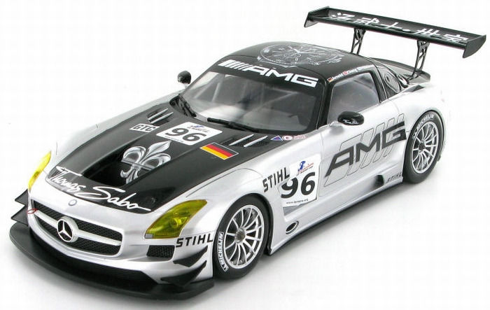 MiniChamps - 1:18 - Mercedes-Benz SLS AMG GT3 Team AMG China 6H Zhuhai 2011 - Limited Edition or 1, for sale  London