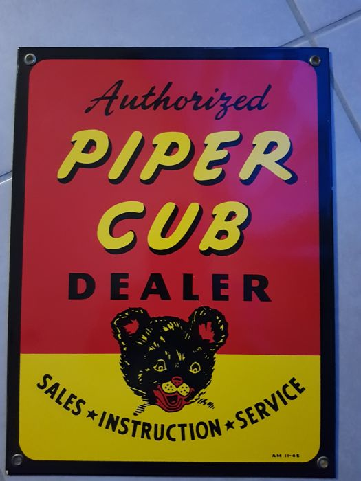 PIPER CLUB - Poster (1) - Emaille