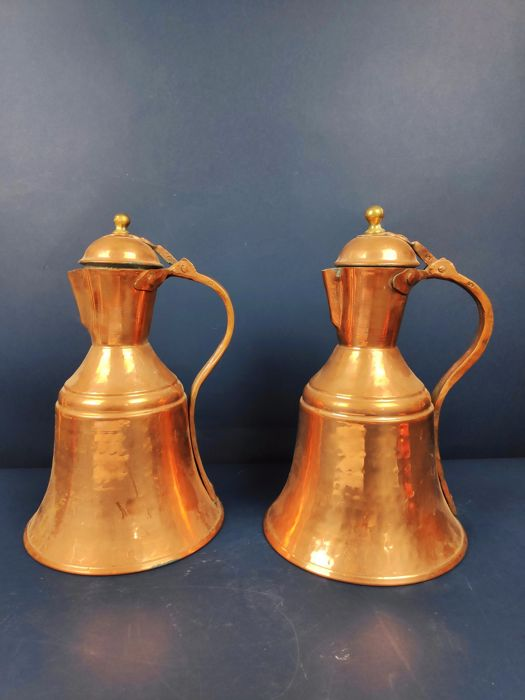 Pair of Jugs - Copper