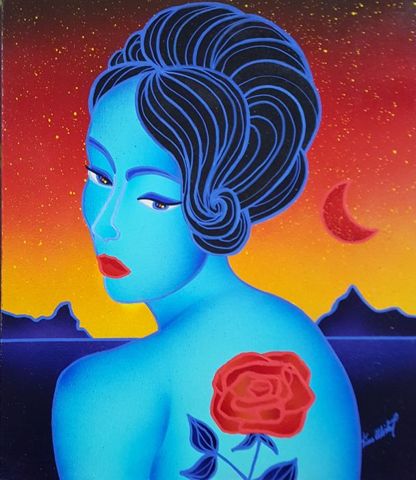 Kino Mistral - Lady Tatto red rose