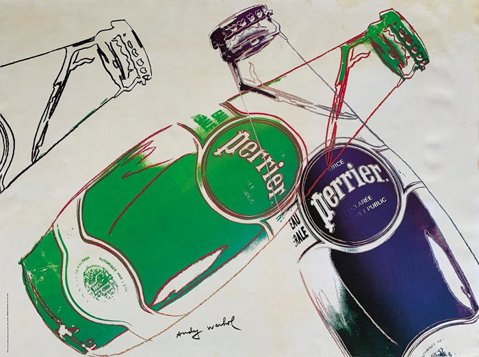 Andy Warhol - Perrier - 1983
