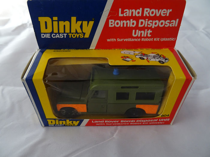 Dinky Toys - 1:43 - 604 Land Rover Bomb Disposal Unit