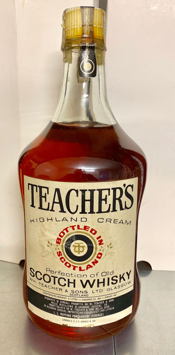 Teacher's - b. 1970s - 200cl