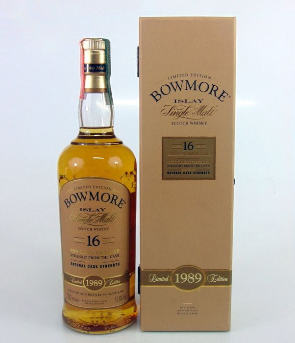 Bowmore 1989 16 years old - 700ml
