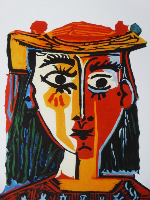 Pablo Picasso (after) - Bust of a Woman with Hat
