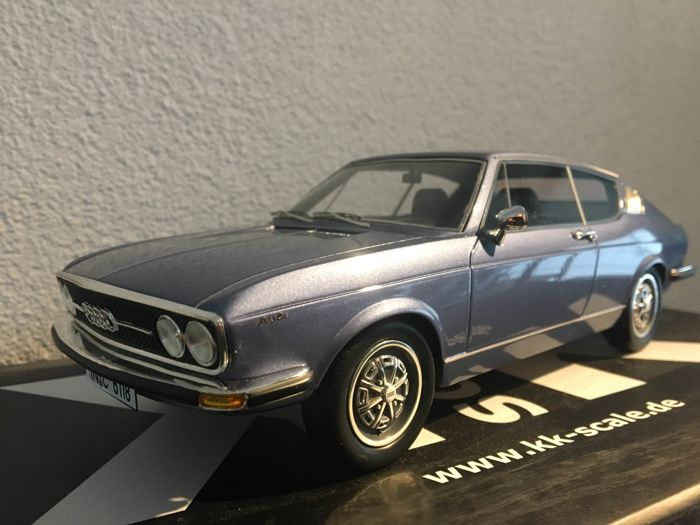 Used, KK Scale - 1:18 - Audi 100 Coupe Model Cars Model Cars for sale