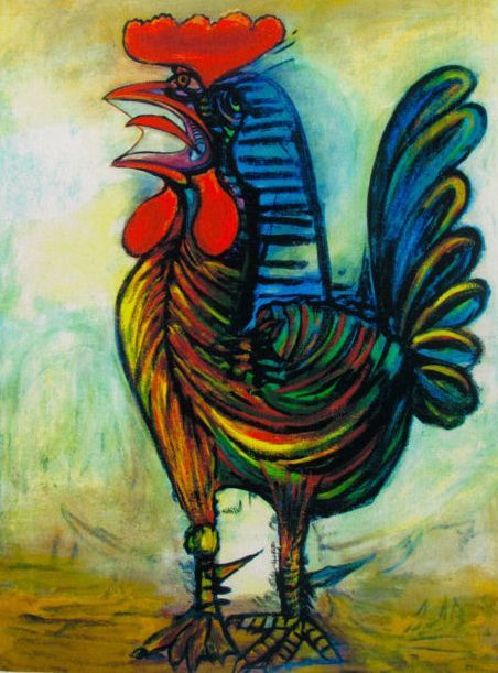 Pablo Picasso ( after ) - The Rooster
