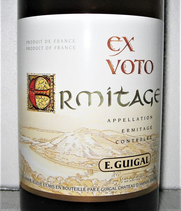"2013  Ermitage ""Ex Voto"" (white)  - E. Guigal - Rhone - 1 Bottle (0.75L)"