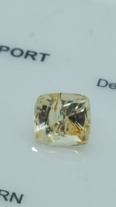Amarillo Zafiro - 1.86 ct