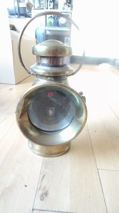 "Lamp - Josehp Lucas ""King of the Road No 724"" - 1907-1910 (1 items)"