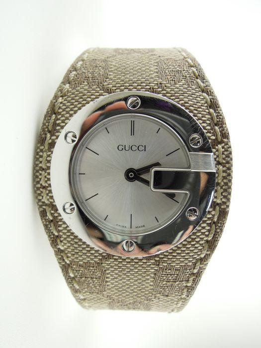 Gucci - Round Antique G - 104 - Women - 1990-1999