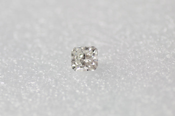 1 pcs Diamant - 1.07 ct - Radiant - G - VS1
