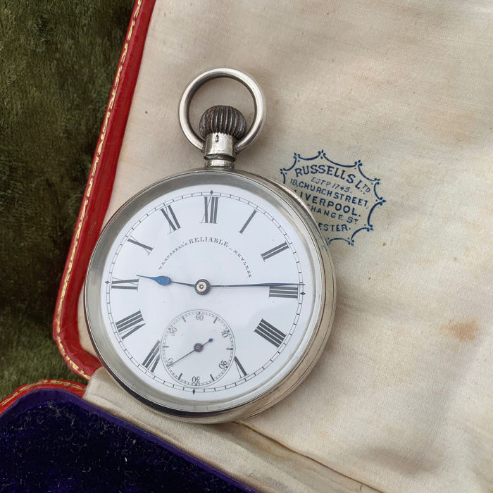 T R Russels Longines - pocket watch - NO RESERVE PRICE - Hombre - 1900s