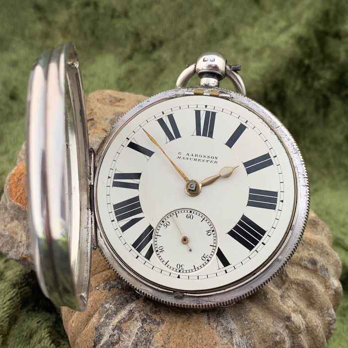G Aaronson - English lever pocket watch - Hombre - 1894