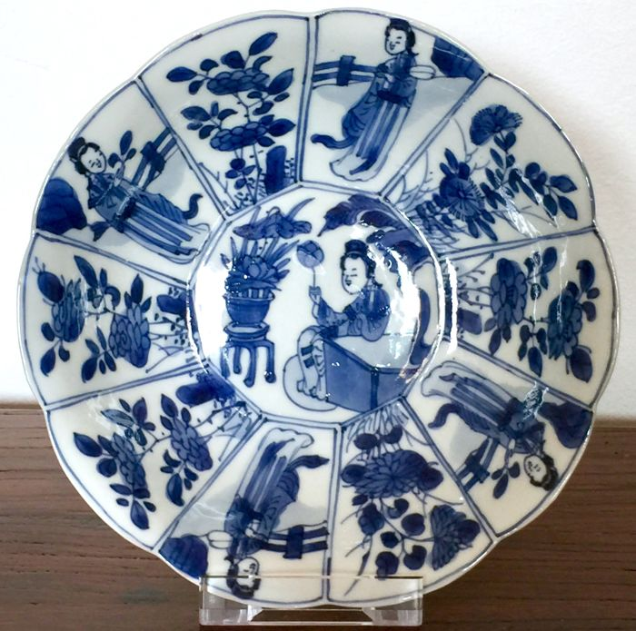 Schotel - Porselein - Marked!! - China - Kangxi (1662-1722)