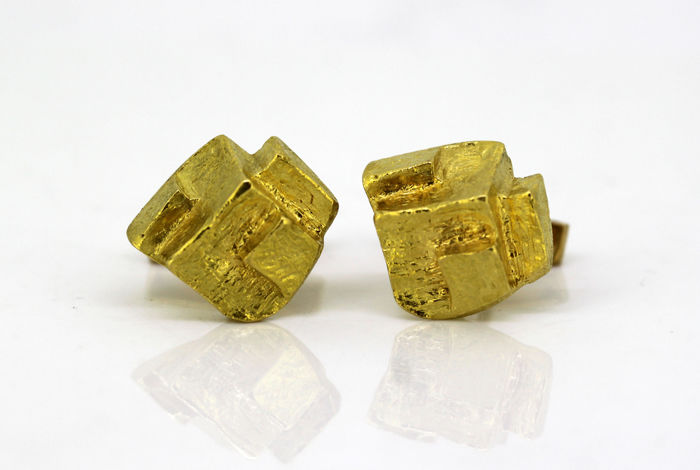 Kutchinsky - 18 kt. Yellow gold - Cufflinks