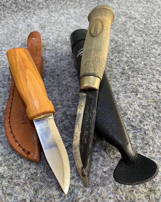 Finland - Two Finnish Hunting Knives - MARTTIINI Finland - Hunting - Messen
