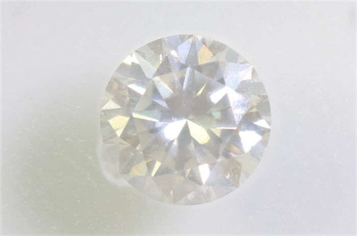 Diamant - 0.51 ct - Brillant - M - P1 - * NO RESERVE PRICE *