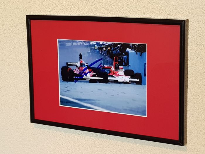 Ferrari - Formula One - Niki Lauda and James Hunt - Eternal Rivals- - Photograph